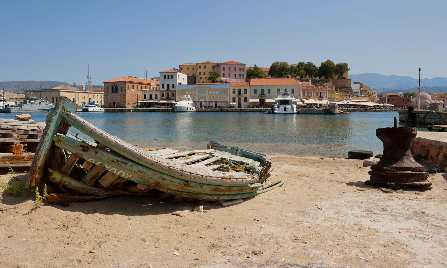 Chania Airport To Chania Center 27€